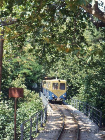The cog-railway train