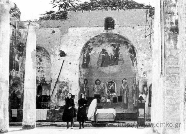 Ο καταστραμμένος καθεδρικός ναός της Κοιμήσεως της Θεοτόκου