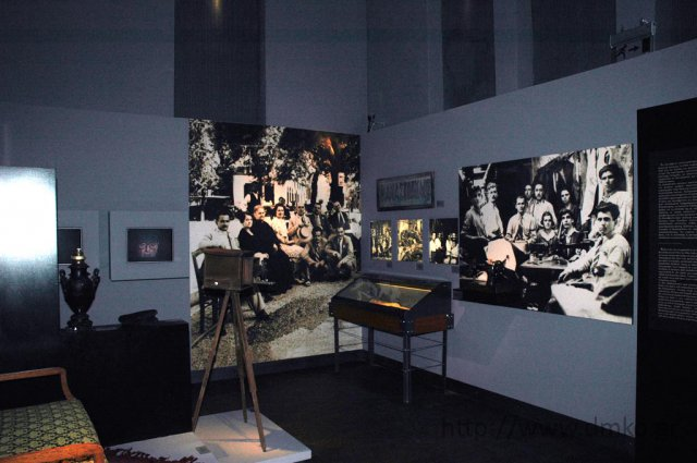 Photo of the Museum's exhibition area.