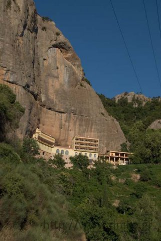 The Monastery of the 'Mega Spilaio' (Great Cave)