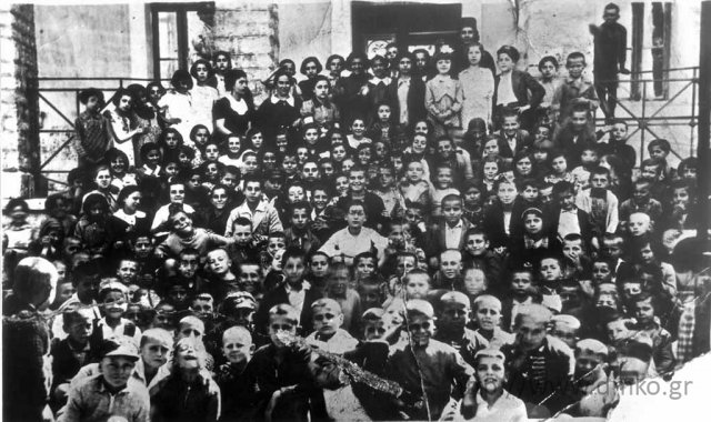 Το Δημοτικό Σχολείο στις αρχές το έτος 1937